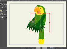 <font color=gray>Rigging the parrots wings</font>